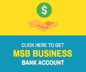 MSB Business Bank Account